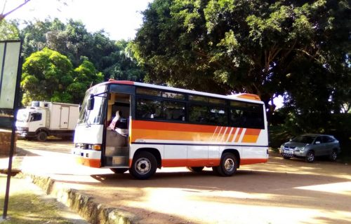 Buses for hire/rent in Uganda