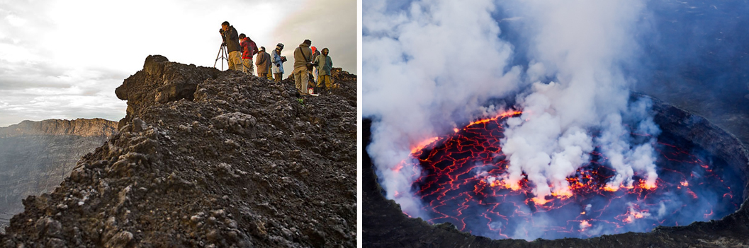 3 Days Mount Nyiragongo Volcano Hiking