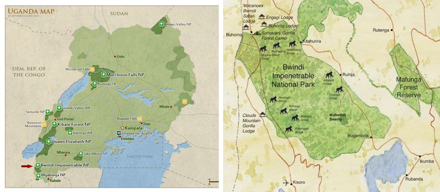bwindi-national-park-map