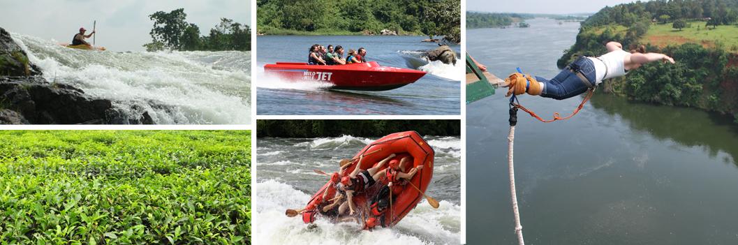 2 Days Jinja Bungee Jumping & Rafting Safari Uganda Source of the Nile Tour