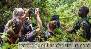 Uganda Gorilla Trekking Safari Congo Mount Nyiragongo Hiking Trip