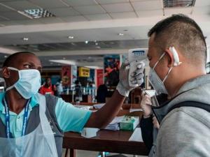 Congo Coronavirus Travel Standard Operating Procedures - Checking in on board